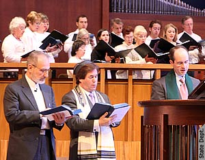 interfaith service in Bradley Hills Presbyterian in Maryland