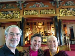 Buddhist Temple, Steve, Abigail Lekshe