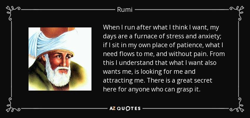 RUMI quote 2