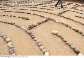 labyrinth-walking